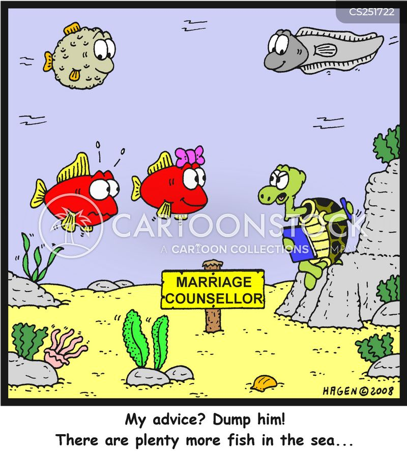 Plenty More Fish In The Sea Cartoons and Comics - funny