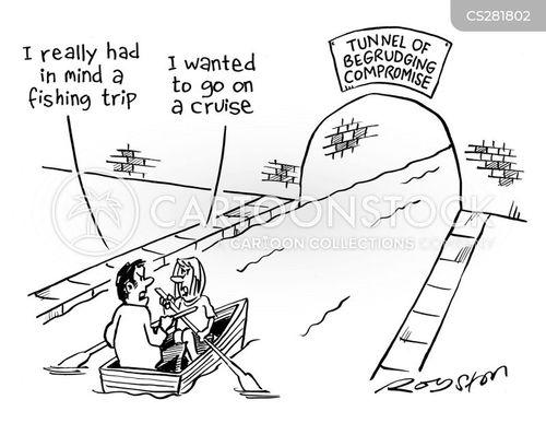 begrudged cartoon