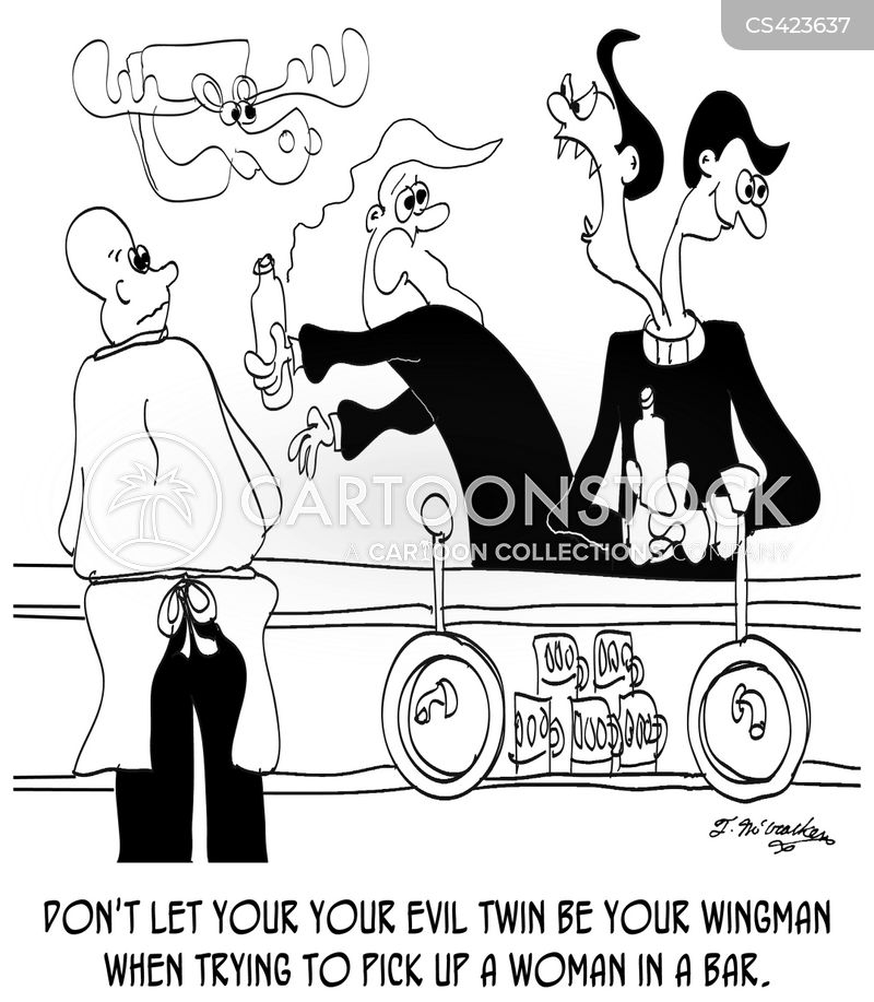 evil twins cartoon