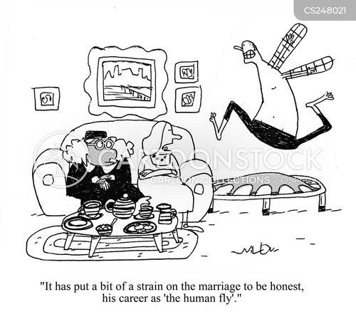 unusual hobby cartoon