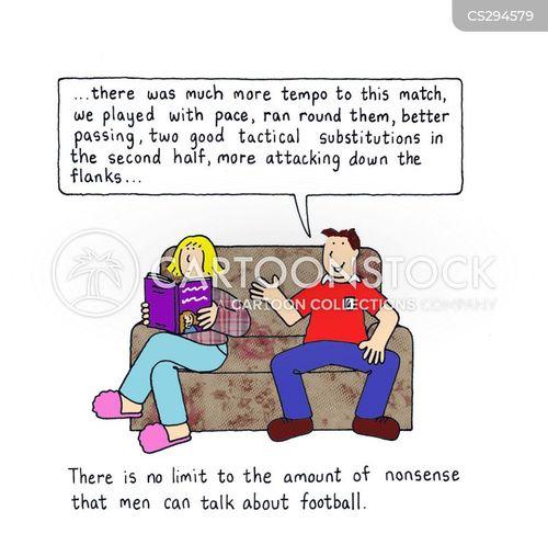 match analysis cartoon