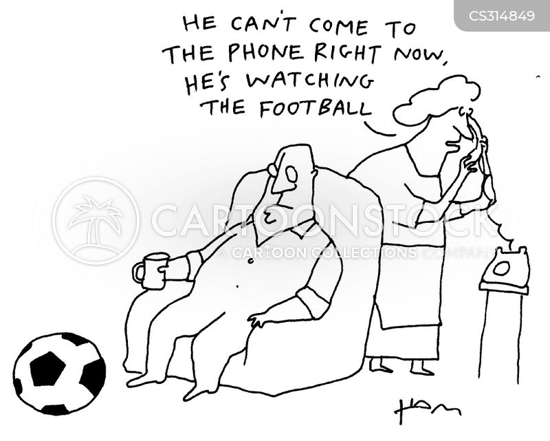 telephoned cartoon