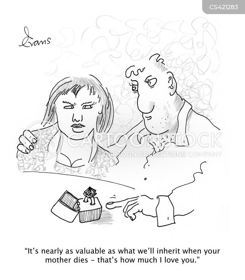 golddigging cartoon