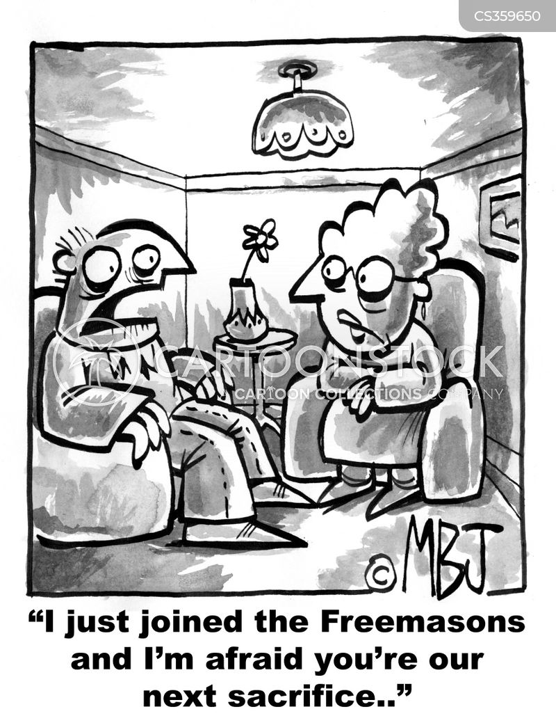 freemason cartoon