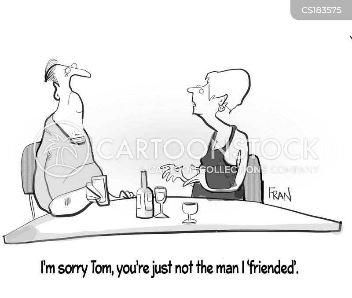 online dates cartoon