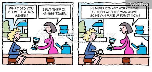 egg timer cartoon