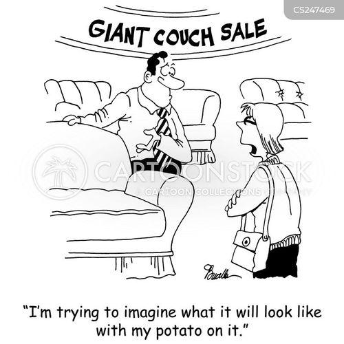 new sofa cartoon