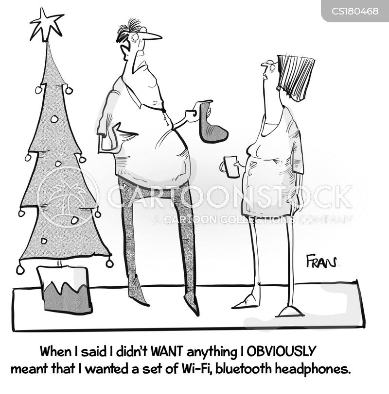 xmas period cartoon