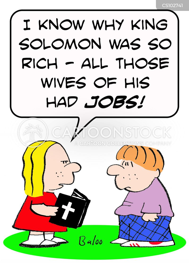 solomon cartoon