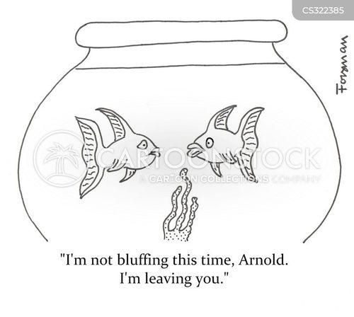 bluffs cartoon