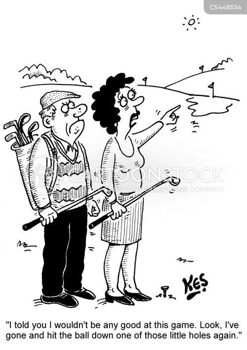 fairway cartoon