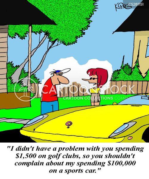 big spender cartoon