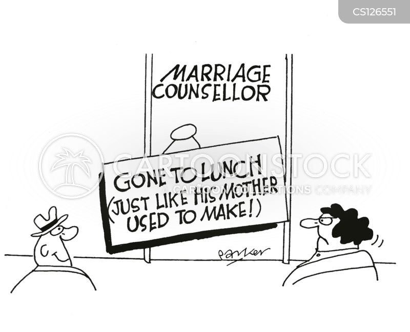 gone to lunch cartoon