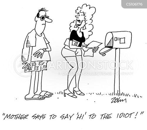 disdain cartoon