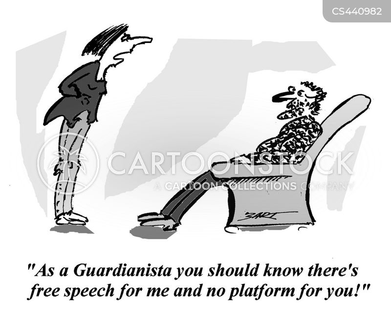 freedom of expression cartoon