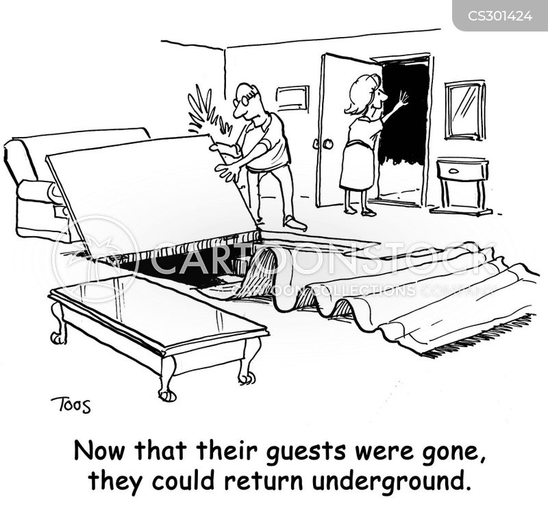 going underground cartoon