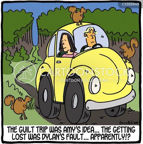 guilt trips cartoon