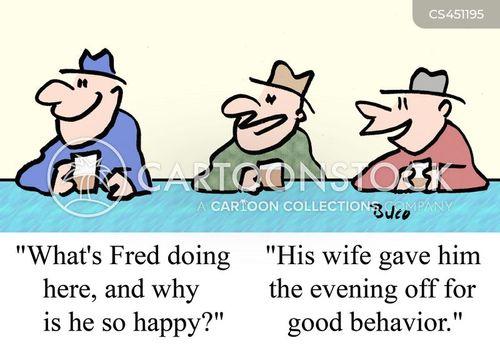 night off cartoon