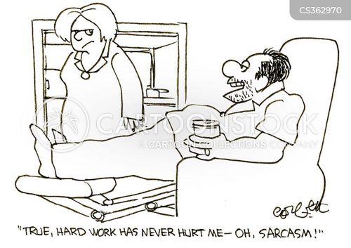 Sarcasm hurts marriage