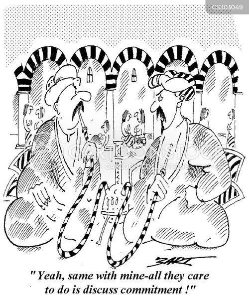 harem cartoon
