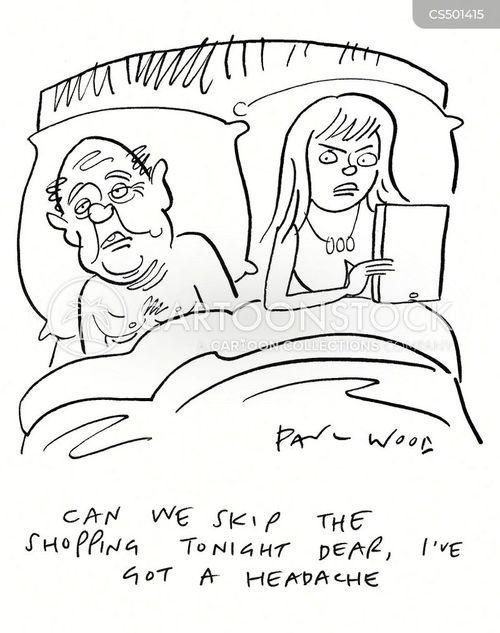 head-ache cartoon