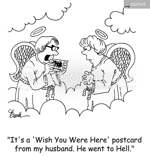 wish you were here cartoon