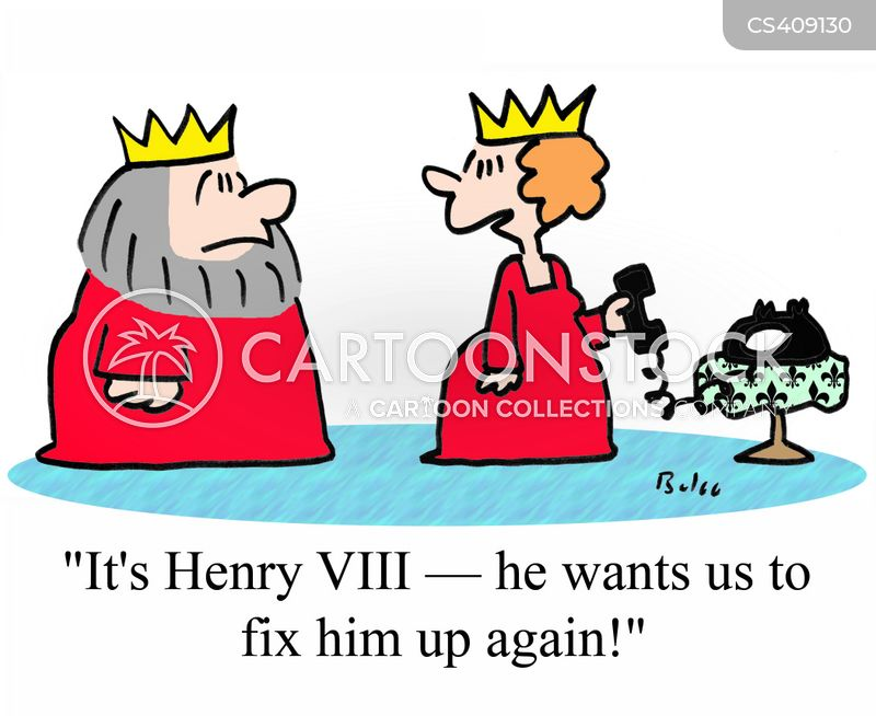 henry viii cartoon