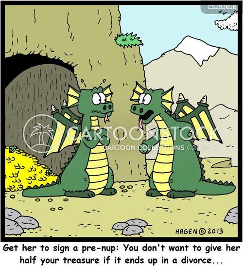 pre-nups cartoon