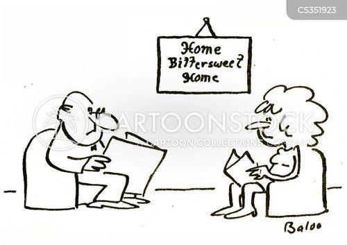 happy home cartoon