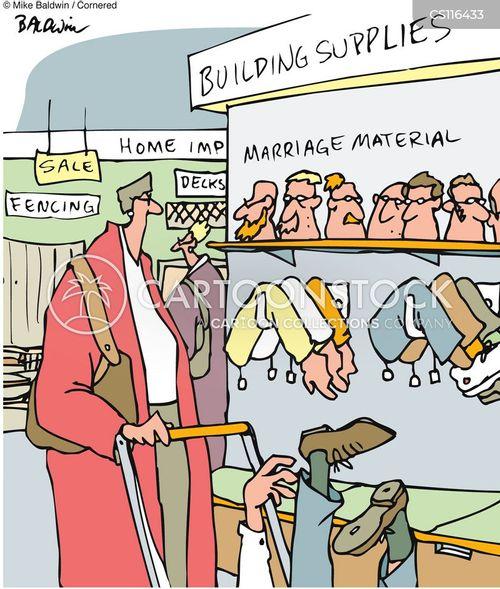 marriage material cartoon