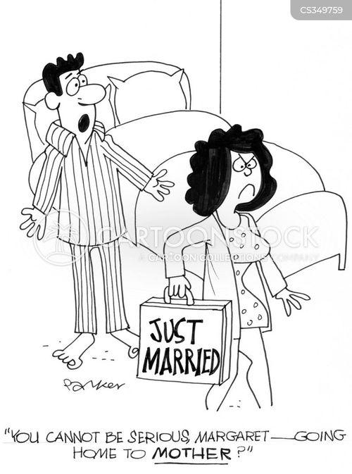 first argument cartoon