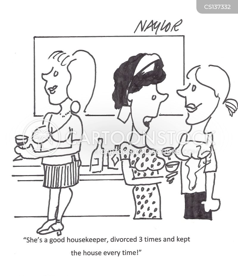 house-keeper cartoon