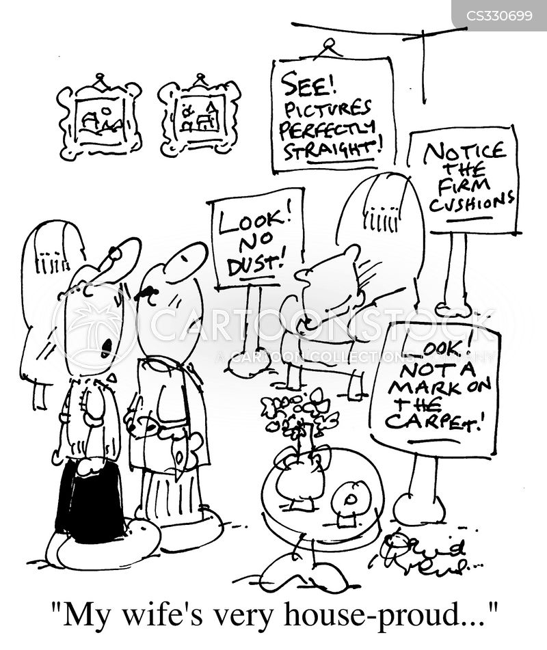 house-proud cartoon