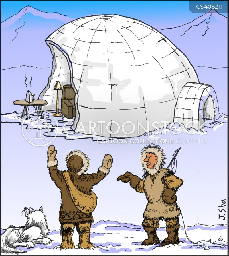 tundra cartoons and comics funny pictures from cartoonstock