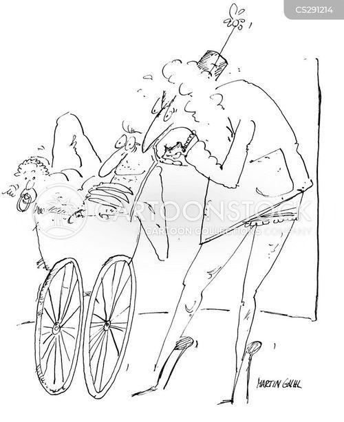 perambulator cartoon