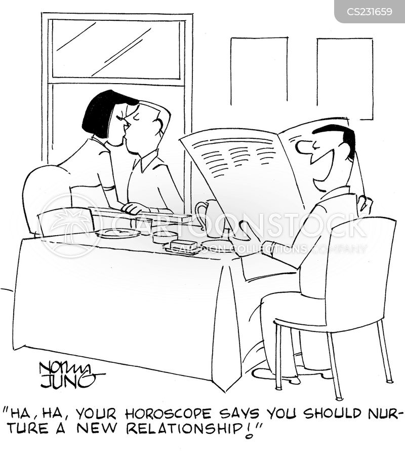 astrologists cartoon