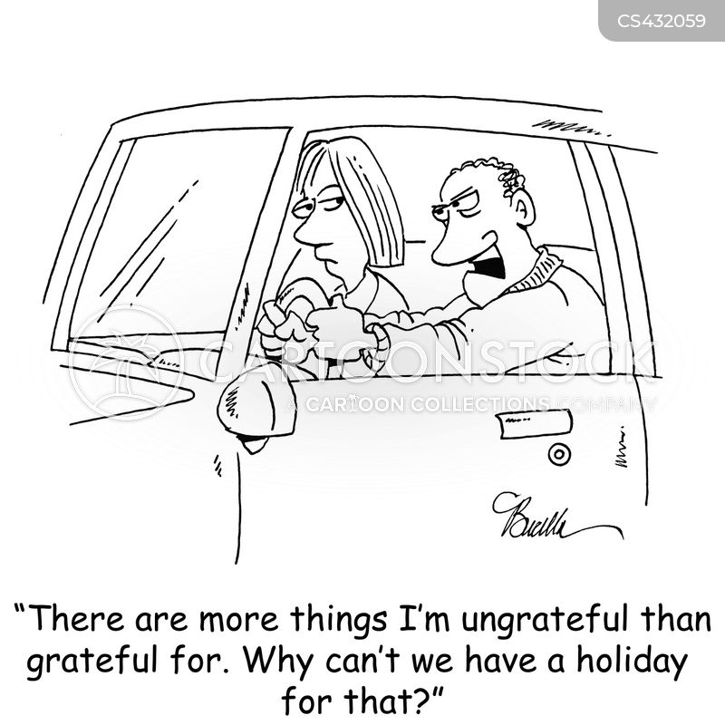 ungratefulness cartoon