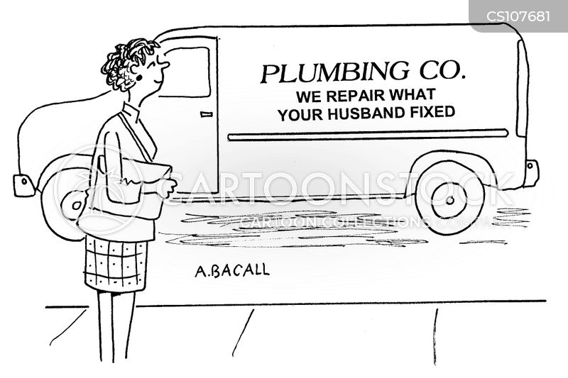 handymen cartoon