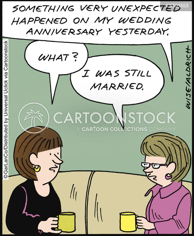 Funny Wedding Anniversary: Wedding Anniversaries Cartoons And Comics