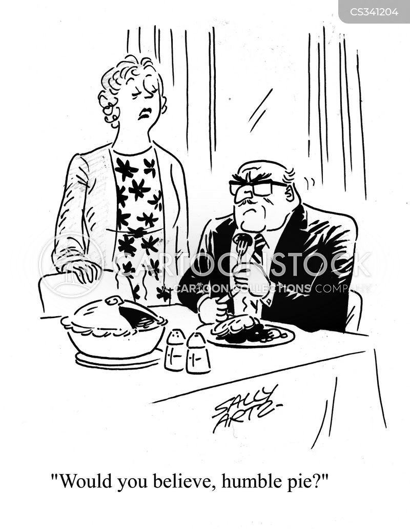 Humble Pie cartoons, Humble Pie cartoon, funny, Humble Pie picture, Humble Pie pictures, Humble Pie image, Humble Pie images, Humble Pie illustration, Humble Pie illustrations