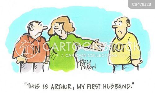 first husbands cartoon