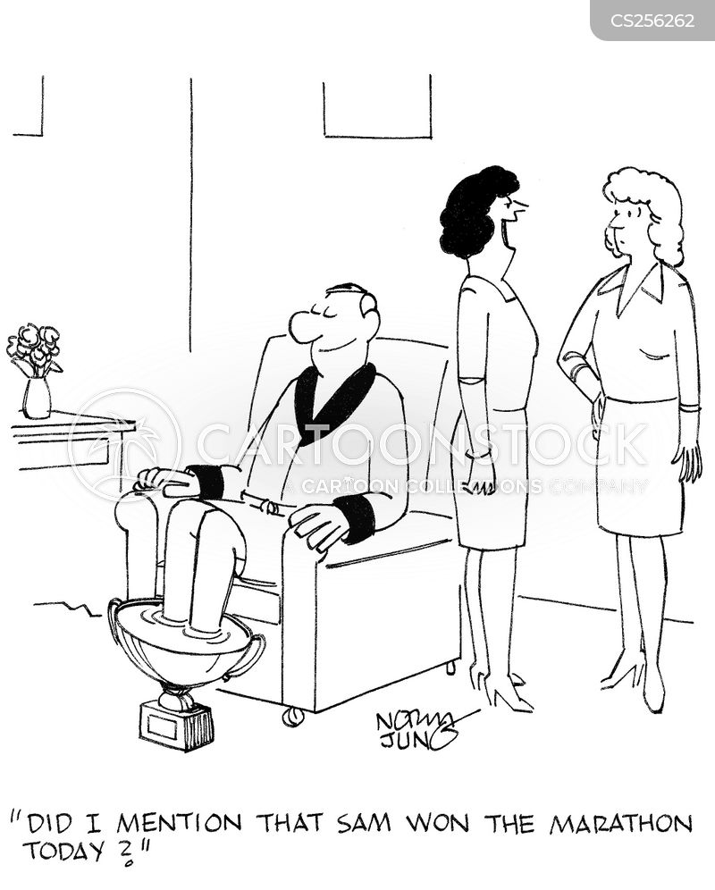 footbath cartoon
