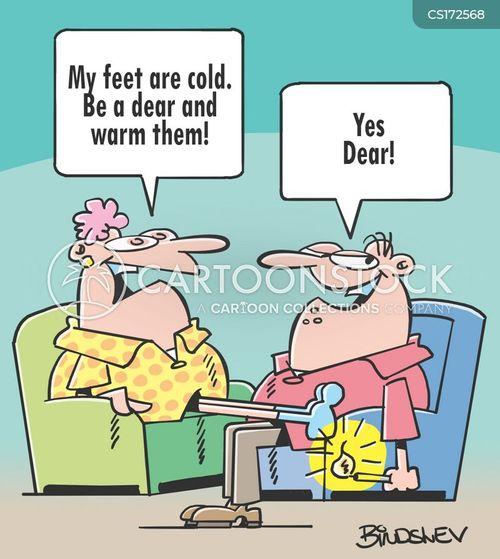 cold-feet cartoon