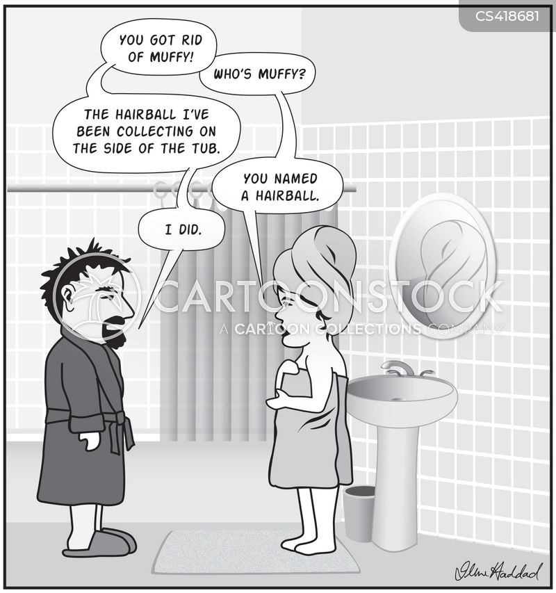 domestic life cartoon