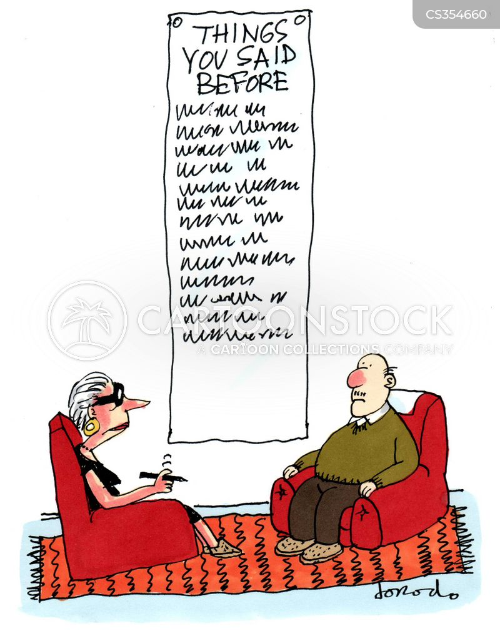 repetitiveness cartoon