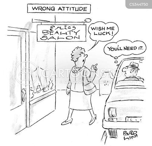 beauty procedures cartoon