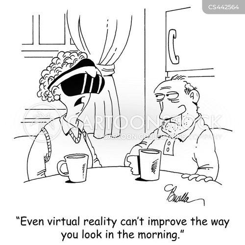vr goggles cartoon