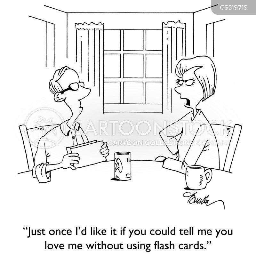 flash cards cartoon