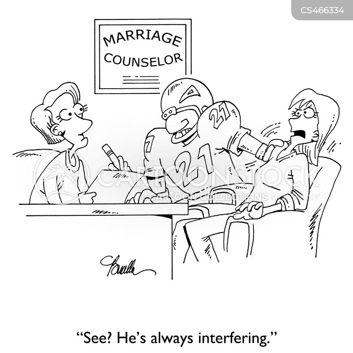 interferes cartoon