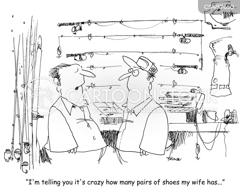 shoe collections cartoon